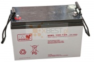 Akumulator AGM, MWL 100-12h (12V 100Ah Long Life)