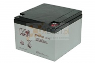 Akumulator AGM, MWL 26-12 (12V 26Ah Long Life)