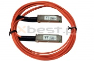 QSFP+ OPTEC, 40G, AOC, 100M Active Optical Cable to QSFP+