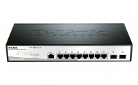 DGS-1210-10/ME 8x10/100/1000 + 2xSFP Ports Metro Ethernet Switch