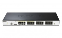 DGS-3120-24SC/SI 16xSFP + 8xCombo GE/SFP Ports Layer 2 stackable Gigabit Switch