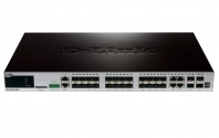 DGS-3620-28SC/SI 20xSFP + 4xCombo GE/SFP + 4xSFP+ Ports xStack Layer 3 Stackable Managed Gigabit Switch