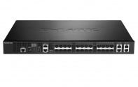 DXS-3400-24SC 20xSFP+ + 4xCombo 10GE/SFP+ Ports xStack Layer 3 Stackable Managed 10 Gigabit Switch