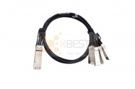 QSFP+ OPTEC, 40G, ACC, 10M Active Copper Cable to 4xSFP+