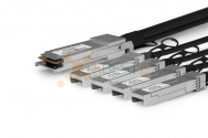 QSFP+ OPTEC, 40G, PCC, 1M Passive Copper Cable to 4xSFP+