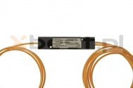 Splitter Fused coupler OPTO, SC/APC, SM 2.0mm, 1x2, Dual Window (1310/1550), 2*50% (ABS BOX)