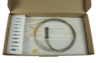 Splitter PLC LC/UPC OPTO, SM 0.9mm, 1x4 (STEEL BOX)