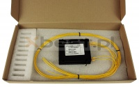 Splitter PLC, SM G657A2 2.0mm, 1x2 (ABS BOX)