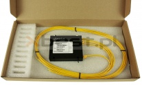 Splitter PLC, SM G657A2 2.0mm, 1x4 (ABS BOX)